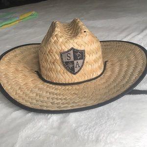 SA Co. straw hat